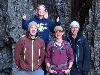 Johannes, Jessie, Brenden og Lars tilbake på LIME