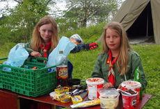 Speiderleir i Velfjord 9-11. juni 2017
