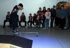 Skateboardshow på LIME