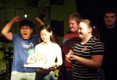 9. klasse vant pepperkake- huspyntekonkurransen