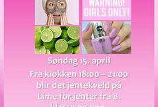 Jentekveld for alle jenter i LIME-alder!