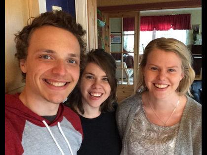 Noah, Shelly og Linnea besøkte LIME