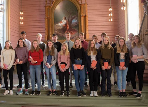 20 nye konfirmanter i Sømna