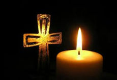 Tenn et lys - be en bønn!
